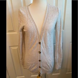 Mossimo Button Up V-Neck Cardigan Sweater